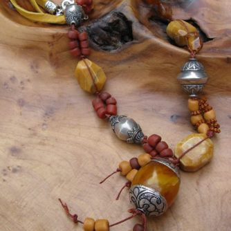 Butterscotch and Amber Necklace